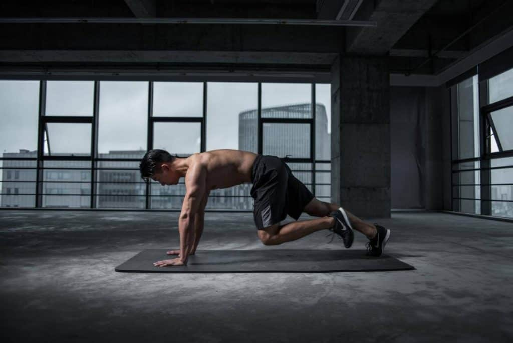 Picture of a man working out