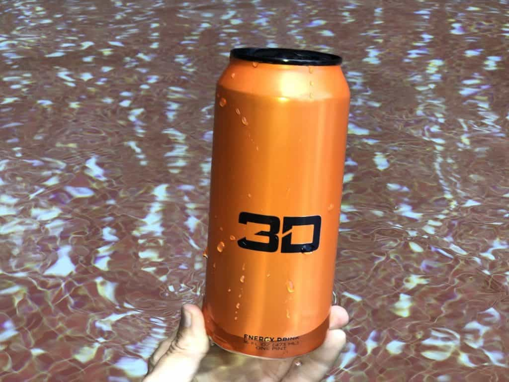A can of 3D energy