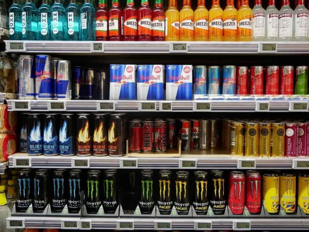 Red Bull Vs Other Drinks