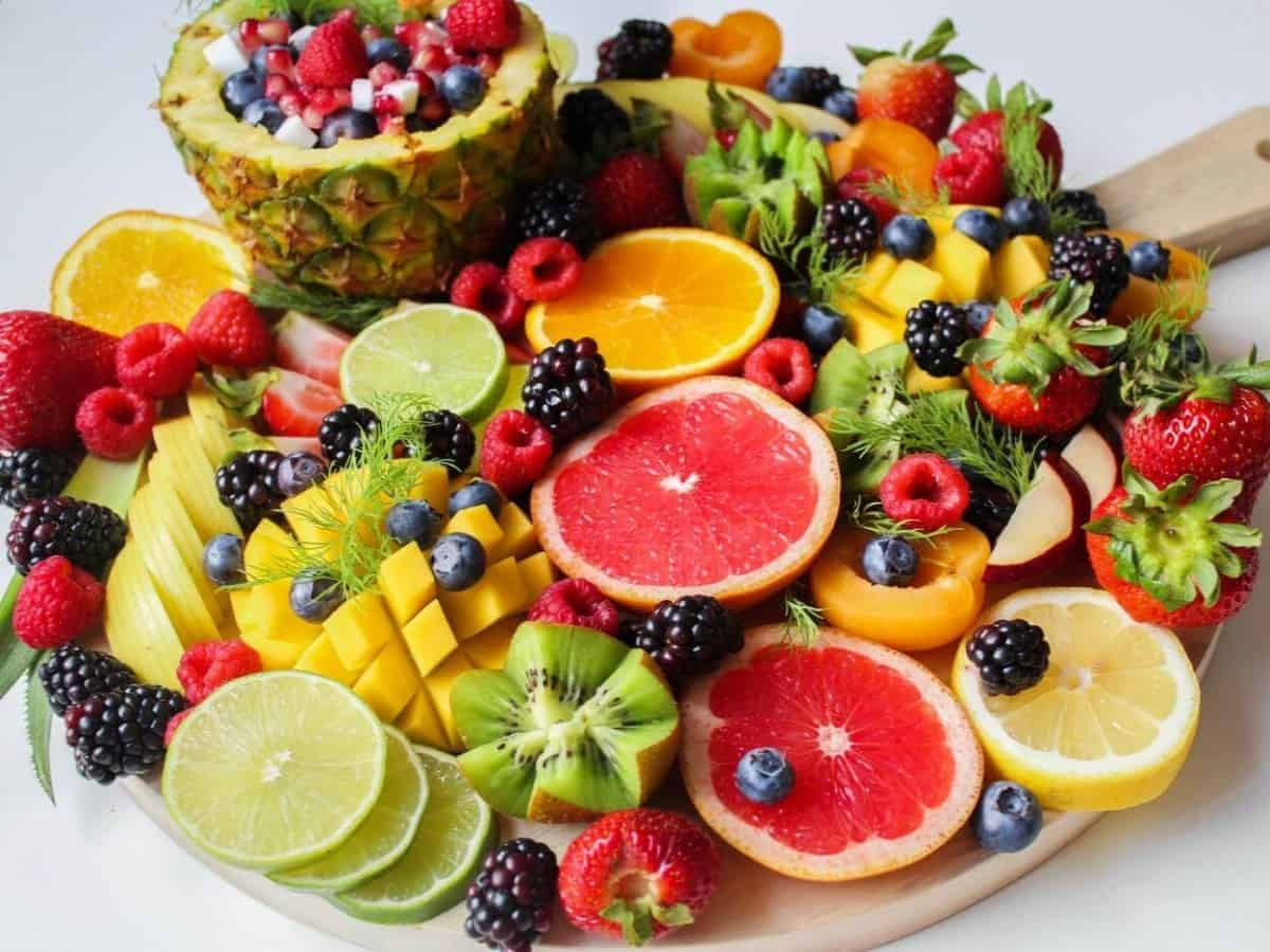 Picture of an assortment of fruits