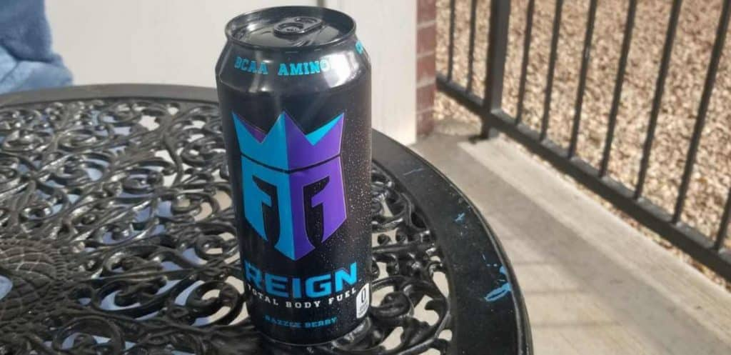 Photo of a can of Reign
