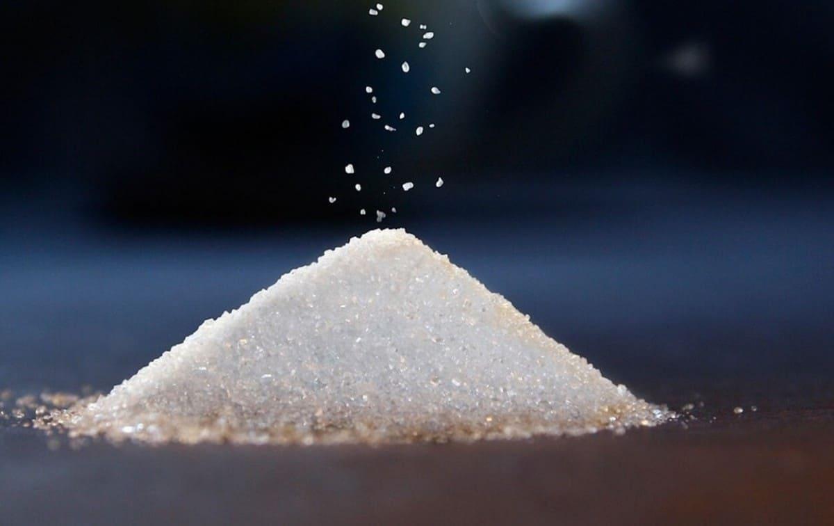 A pile of sugar
