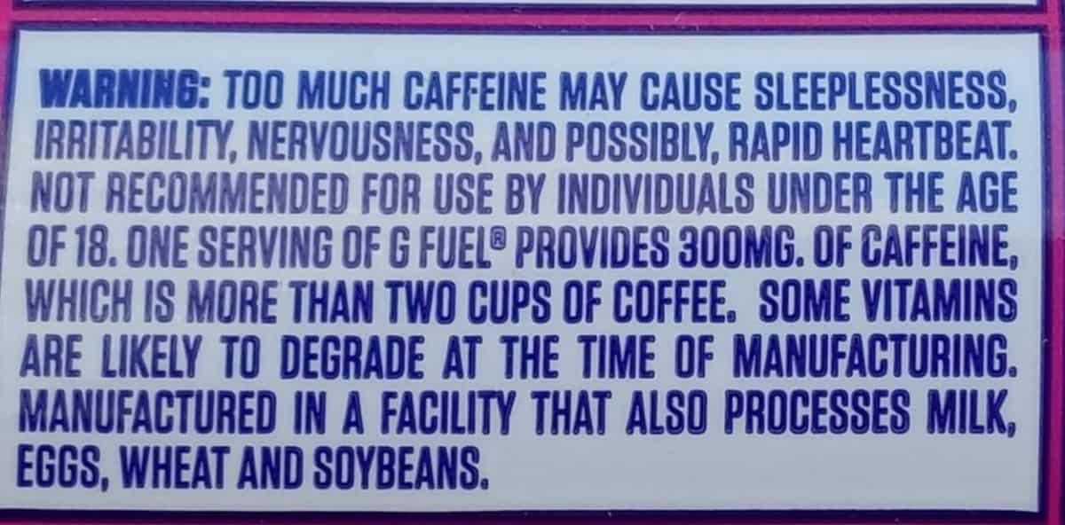 Drink label