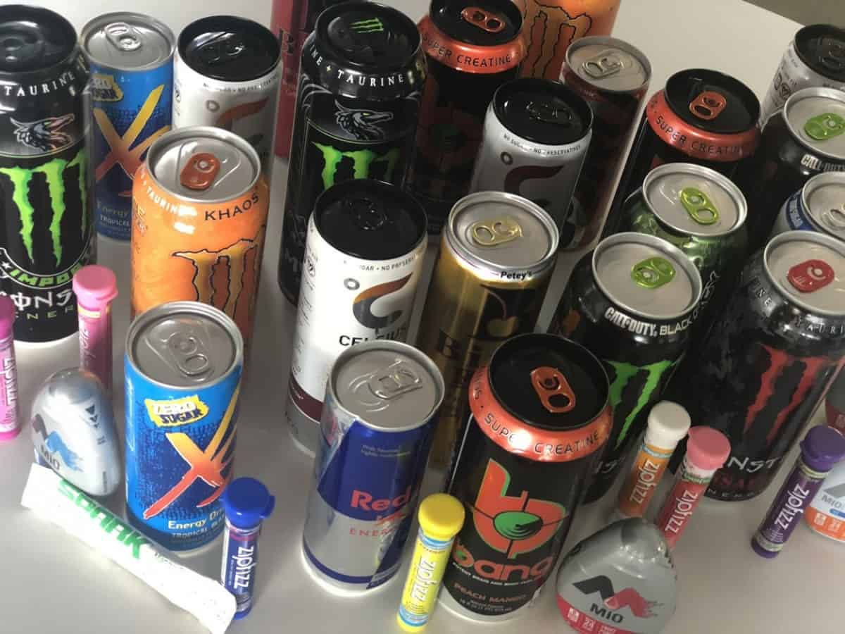 Variety, Energy Drinks