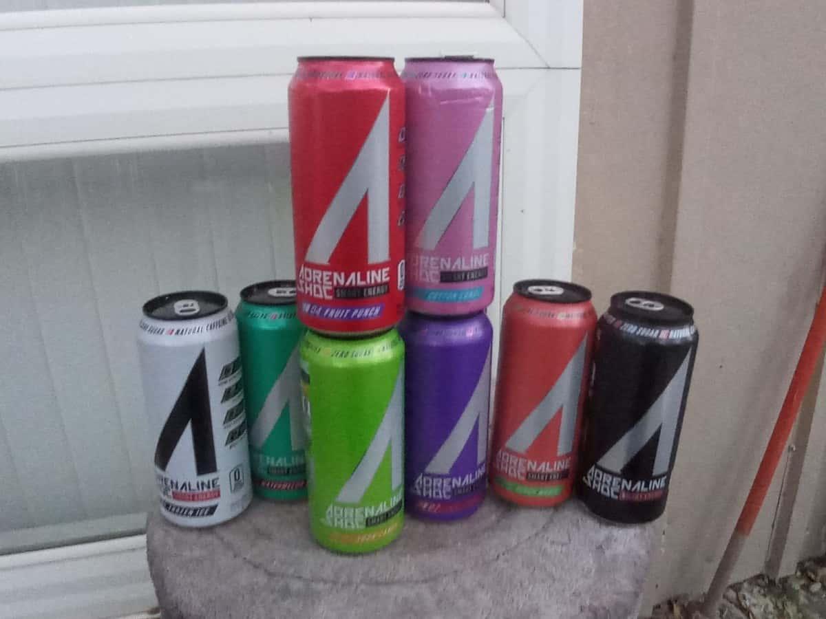 Adrenaline Shoc Energy Drink