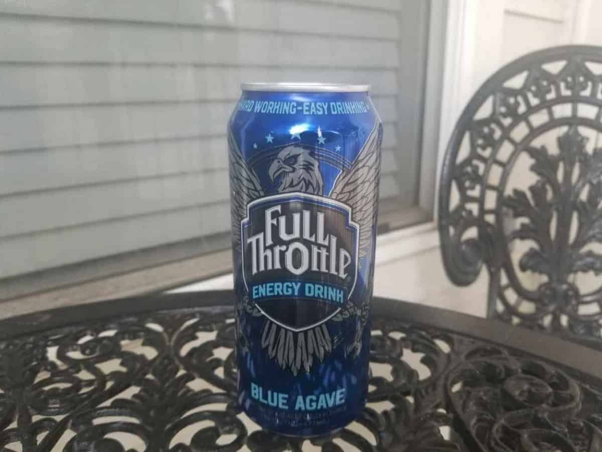 a can of Full Throttle