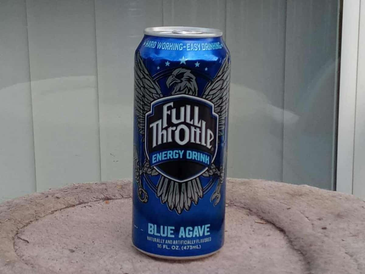 Blue Agave flavor of Full Throttle energy drink