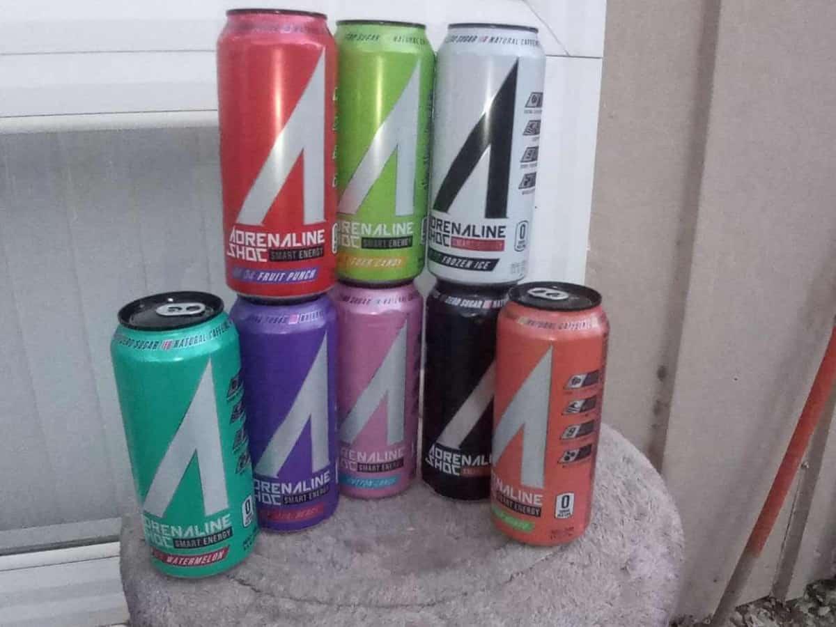 Adrenaline Shoc energy drinks
