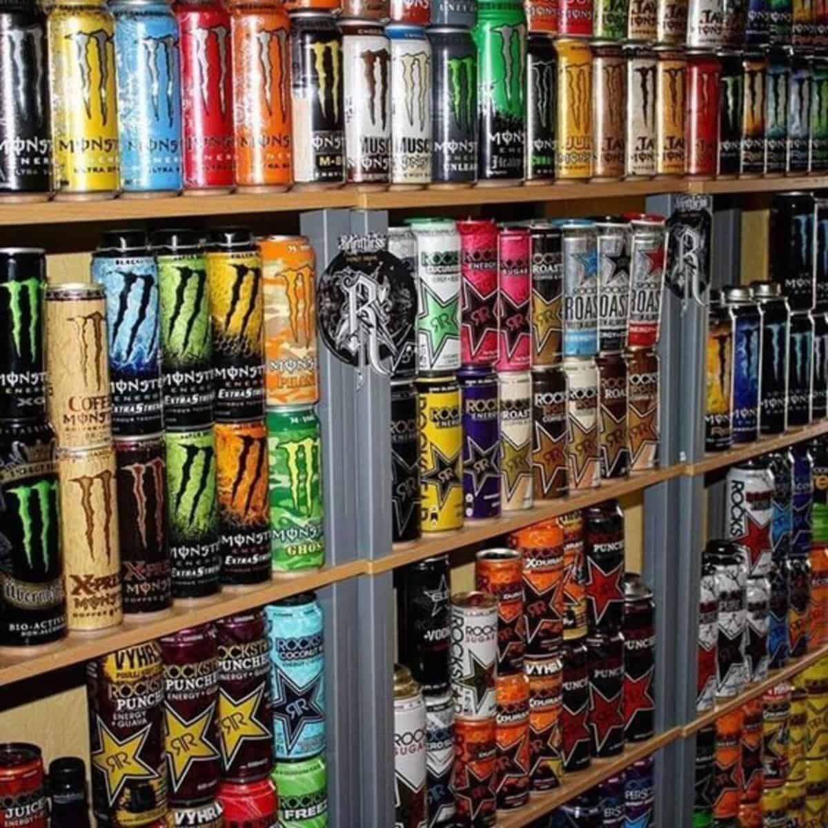 Different brand's Energy Drink