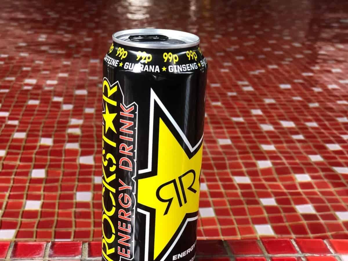 A can of Rockstar