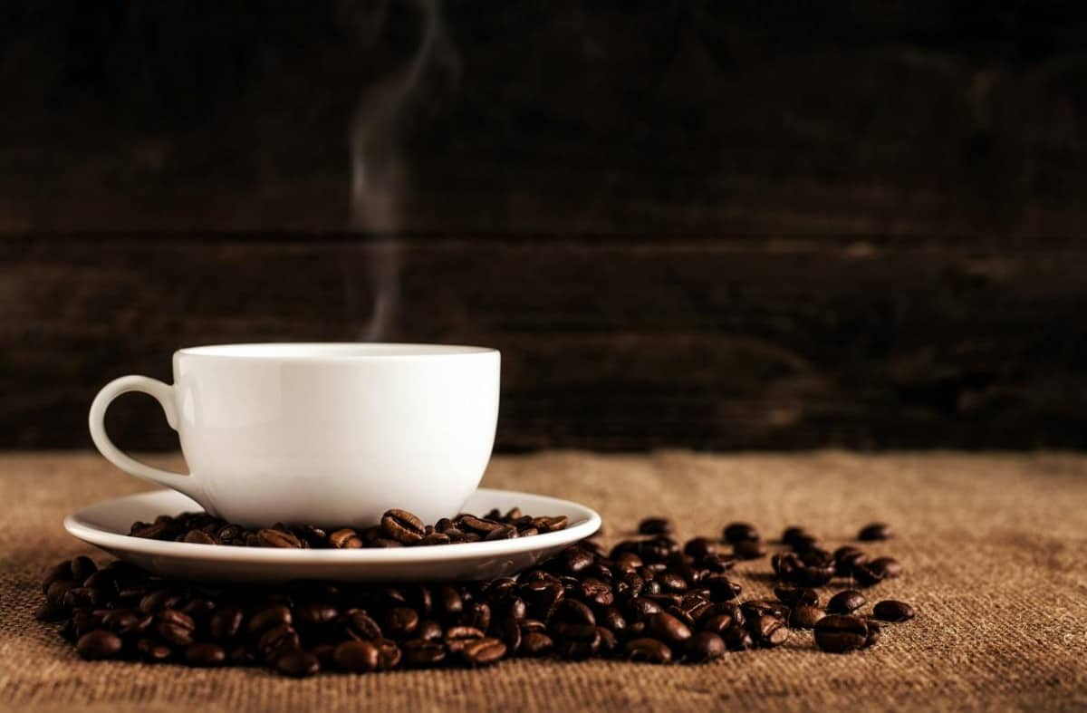 A photo of coffee.
