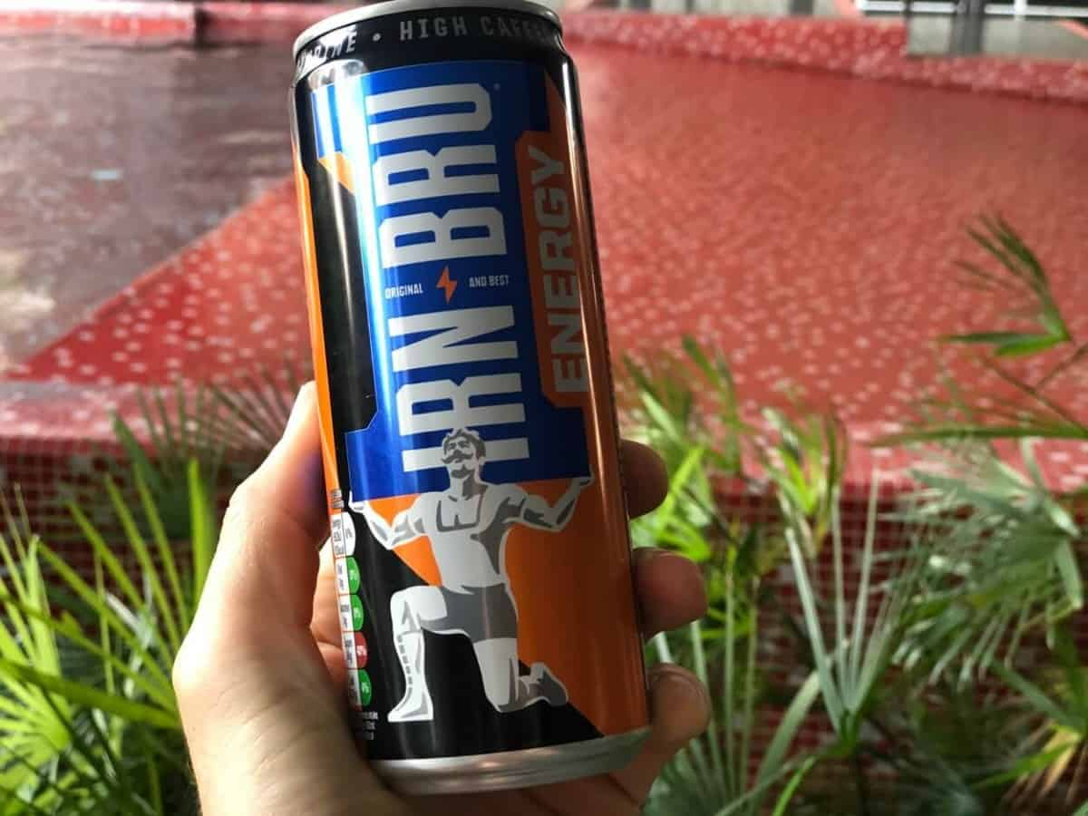 A can of Irn-Bru Energy